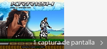 Collage de pantallazos de Krrish - The Game