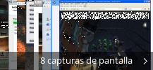 Collage de pantallazos de Unity Web Player