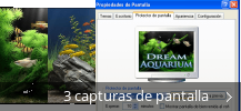 Collage de pantallazos de Dream Aquarium
