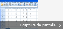 Collage de pantallazos de IBM SPSS Statistics - Essentials for R