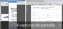 Collage de pantallazos de Adobe Acrobat