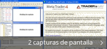 Collage de pantallazos de Traders Way MetaTrader